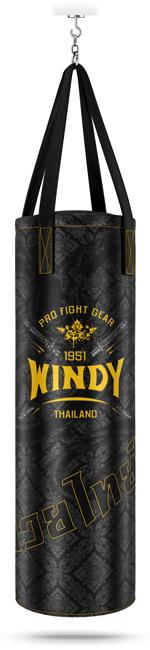Windy punching bag