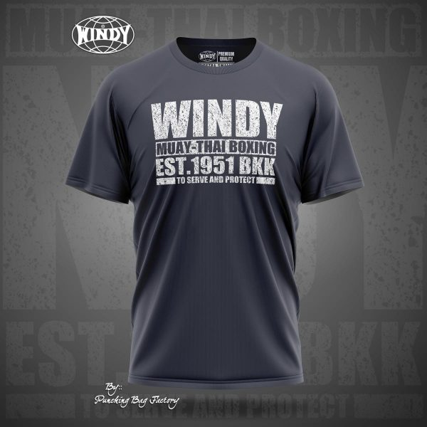 Windy serve and protect t-shirt
