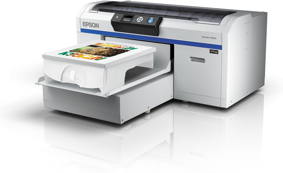 DTG direct to garment printer
